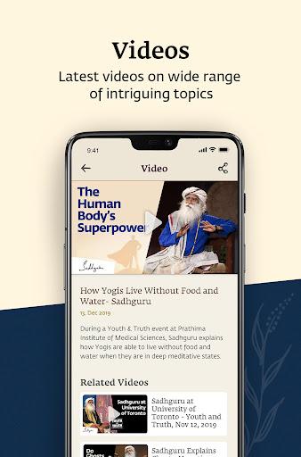 Sadhguru - Yoga, Meditation & Spirituality screenshot 8