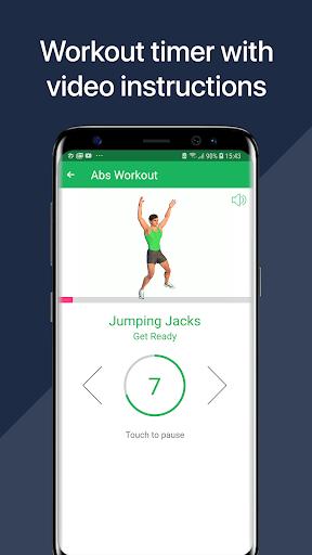 7 Minute Abs Workout - Home Workout for Men 3 تصوير الشاشة
