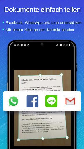 CamScanner-Kostenloser PDF- und Dokumentenscanner screenshot 4