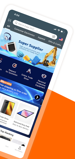 Alibaba.com - leader du e-commerce en ligne B2B screenshot 2
