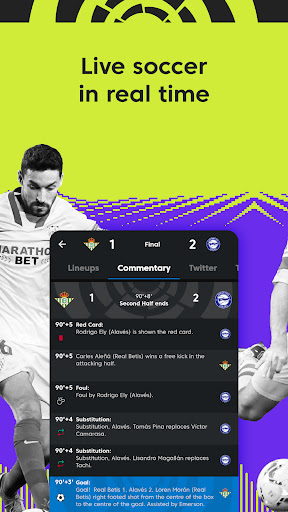 La Liga Official App - Live Soccer Scores & Stats screenshot 6