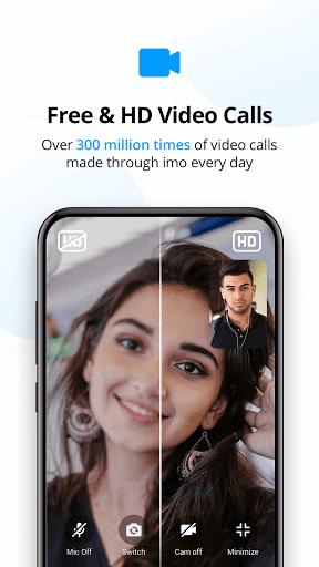 imo video calls and chat screenshot 2