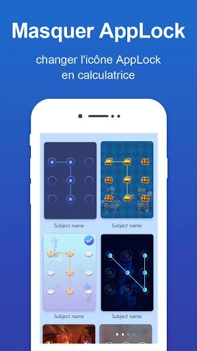 Verrou d'appli - Verrou par code et motif screenshot 7