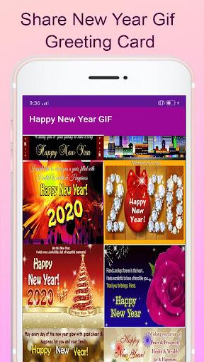 New Year GIF 2022 screenshot 8