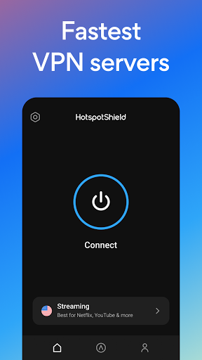Hotspot Shield Free VPN Proxy & Secure VPN स्क्रीनशॉट 2