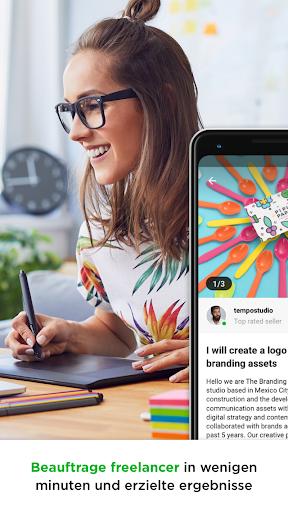 Fiverr: Finde Freelance-Dienstleistungen screenshot 1