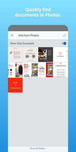 Adobe Scan: PDF Scanner with OCR, PDF Creator screenshot 8