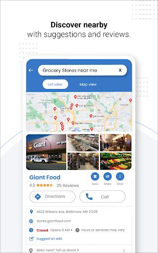 Navegação GPS ao vivo, mapas, direções e explorar screenshot 24