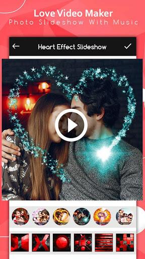 Love Video Maker : Photo Slideshow With Music screenshot 7