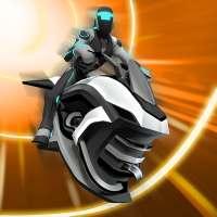 Gravity Rider: 3D motor racespel online on 9Apps