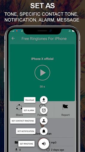 Toques grátis para iPhone X Xs X Max Android ™ screenshot 2