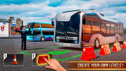 Modern Bus Simulator New Parking Games – Bus Games screenshot 3