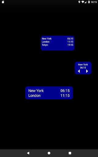 Dünya Saati & Widget'i screenshot 3