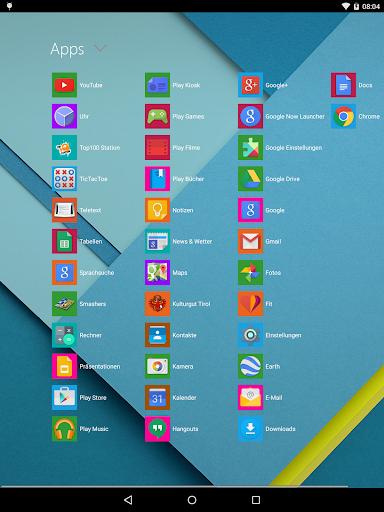 Metro UI Launcher 10 screenshot 5