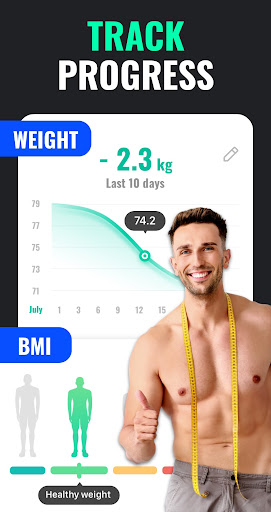 Lose Weight App for Men - Weight Loss in 30 Days screenshot 7