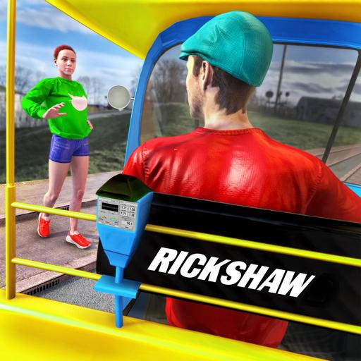 Tuk Tuk Auto Rickshaw Driving Simulator Games icon