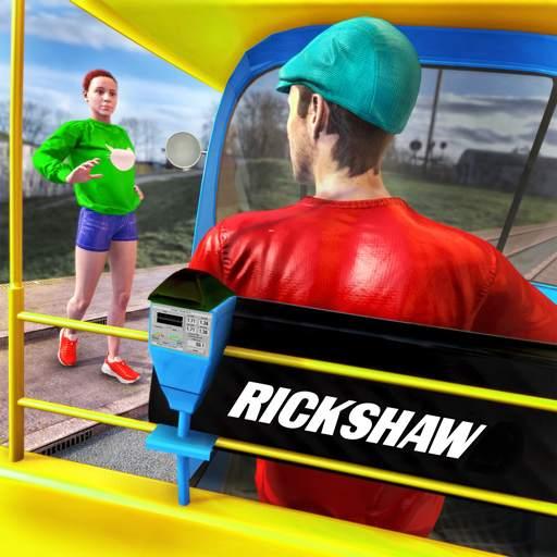Tuk Tuk Auto Rickshaw Driving Simulator Games