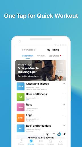 JEFIT Workout Tracker, Weight Lifting, Gym Log App screenshot 7