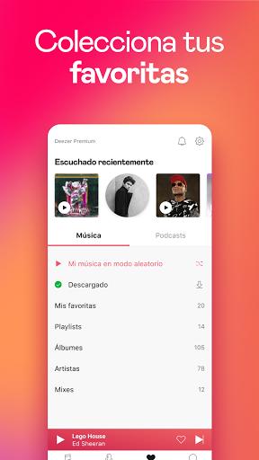 Deezer: música, playlists y podcasts screenshot 6