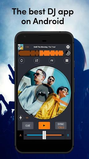 Cross DJ Free - dj mixer app screenshot 1