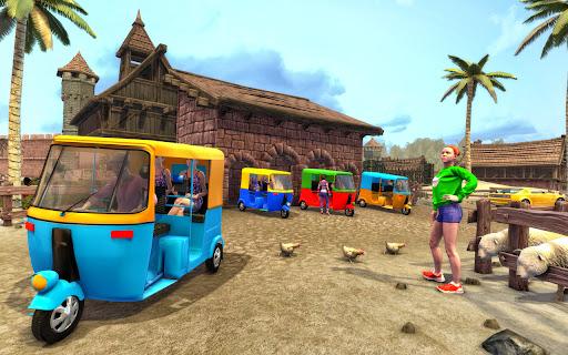 Tuk Tuk Auto Rickshaw Driving Simulator Games screenshot 7