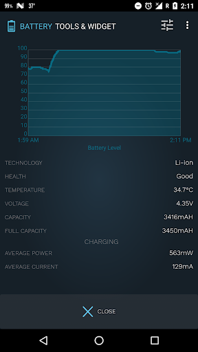 Battery Tools & Widget for Android (Battery Saver) screenshot 4
