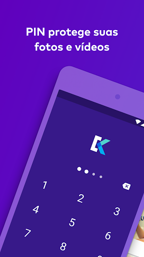 Keepsafe: Arquivar fotos e videos com senha screenshot 1