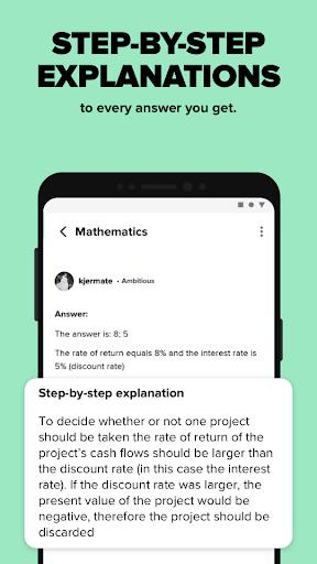 Brainly – Homework Help App screenshot 3