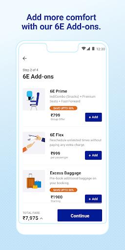 IndiGo-Flight Ticket Booking App 3 تصوير الشاشة