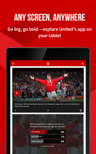 Manchester United Official App स्क्रीनशॉट 9