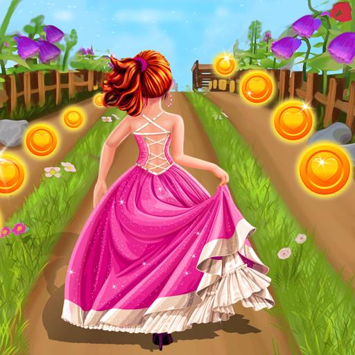 Royal Princess Island Run : Endless Running Game icon