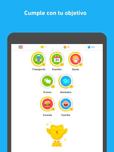 Duolingo - Aprende inglés y otros idiomas gratis screenshot 10