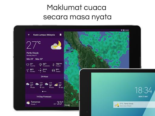 Clime: Radar Cuaca dan Ramalan screenshot 8