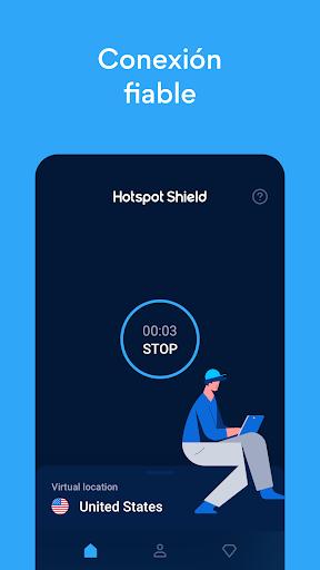 Hotspot Shield Proxy VPN gratuito y VPN segura screenshot 4