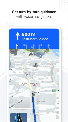 Navegação GPS ao vivo, mapas, direções e explorar screenshot 6
