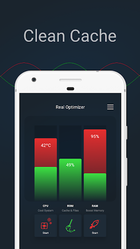 Real Optimizer -  System Cleaner and Booster screenshot 4