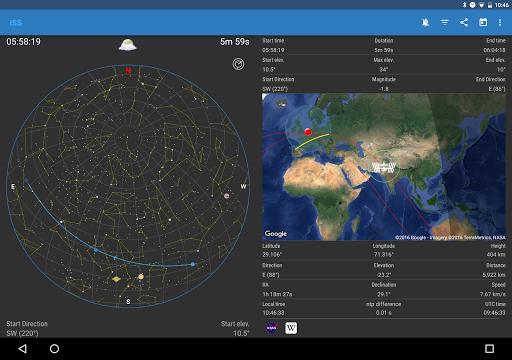 ISS Detector screenshot 10