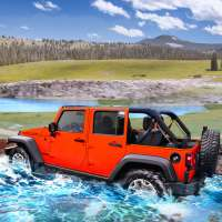 Offroad Jeep Driving 2021 - Car Racing Game 3D on 9Apps