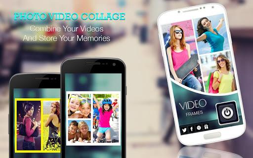 Video Collage: Foto Video Collage Maker   Musik screenshot 1