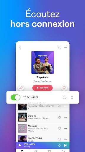 Deezer : musique, podcasts & playlists screenshot 3