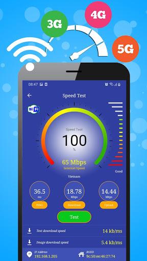 Wifi, 5G, 4G, 3G, 2G - Đo tốc độ mạng và Dữ liệu screenshot 2