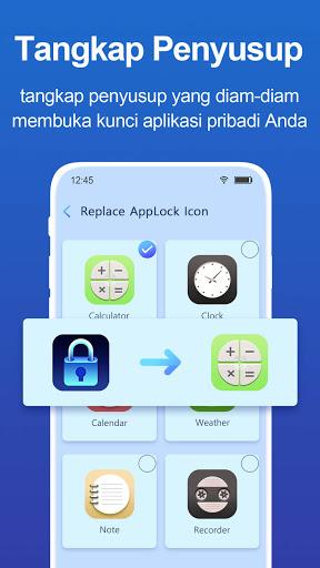 kunci aplikasi: Pengunci aplikasi, Kunci Pin, Pola screenshot 5