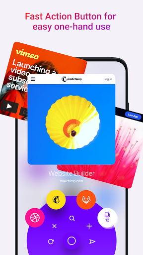 Opera Touch: fast, new & modern web browser screenshot 2