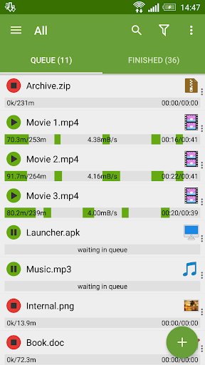Advanced Download Manager & Torrent downloader screenshot 1
