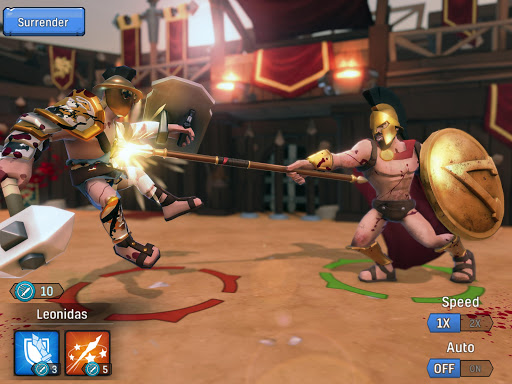 Gladiator Heroes - Fighting and strategy game screenshot 16
