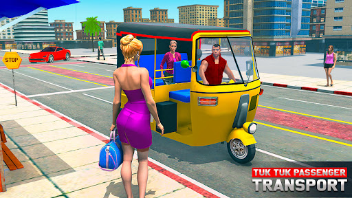 Tuk Tuk Auto Rickshaw Offroad Driving Games 2020 screenshot 1