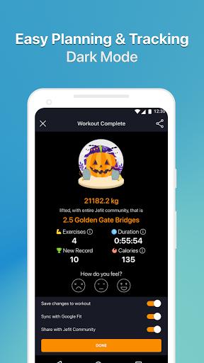 JEFIT Workout Tracker, Weight Lifting, Gym Log App screenshot 8