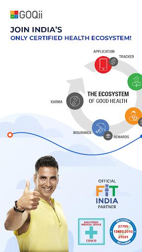 GOQii - Smart Preventive Healthcare скриншот 1