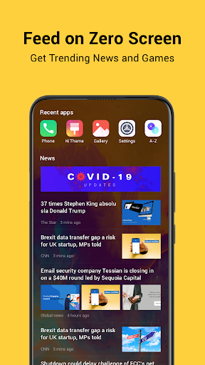 HiOS Launcher(2021)-  Fast, Smooth, Stabilize screenshot 1