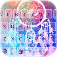 Tema Keyboard Dreamcatcher on 9Apps